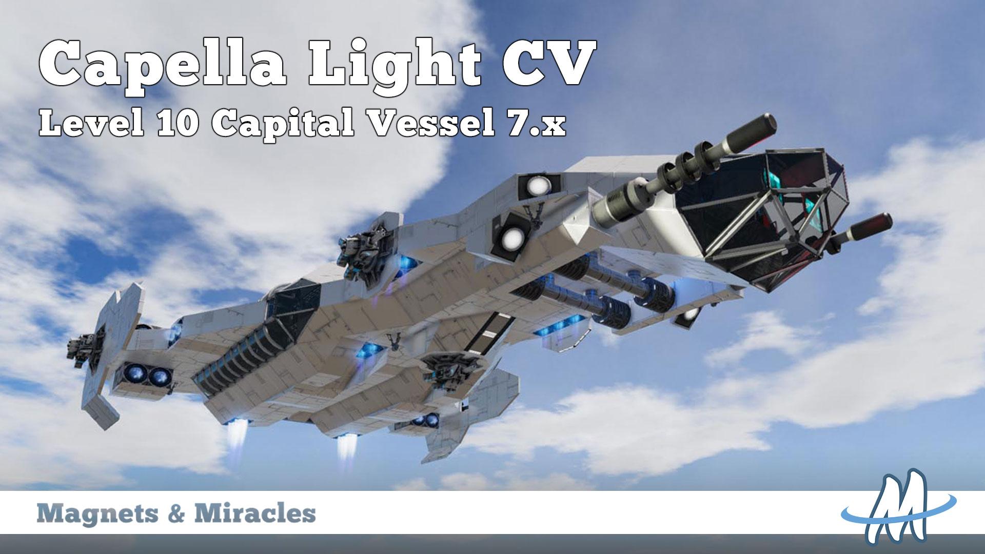 Steam workshop capella light multipurpose vessel blueprint capital vessel malvernweather Image collections