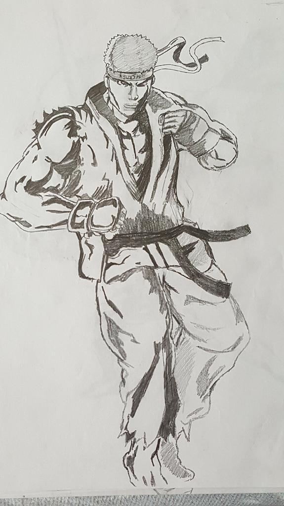 Steam Community Ryu Drawing