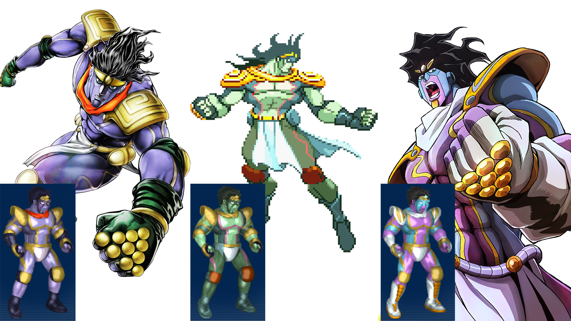 Steam Workshop Star Platinum
