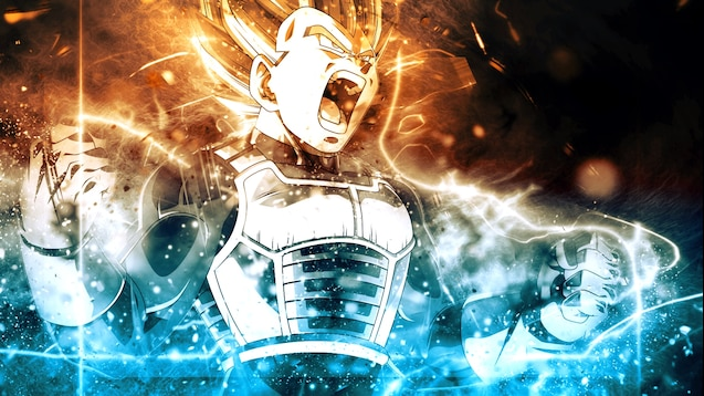 Steam Workshop Dragon Ball Z Vegeta Wallpaper