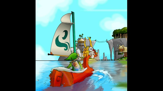 Steam Workshop Zelda Wind Waker Wallpaper