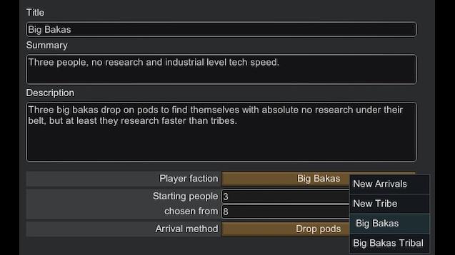 Steam Workshop :: Big Bakas No Research