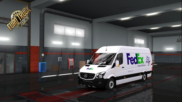Steam Workshop :: MB Sprinter 315 CDI FEDEX Home Delivery Skin
