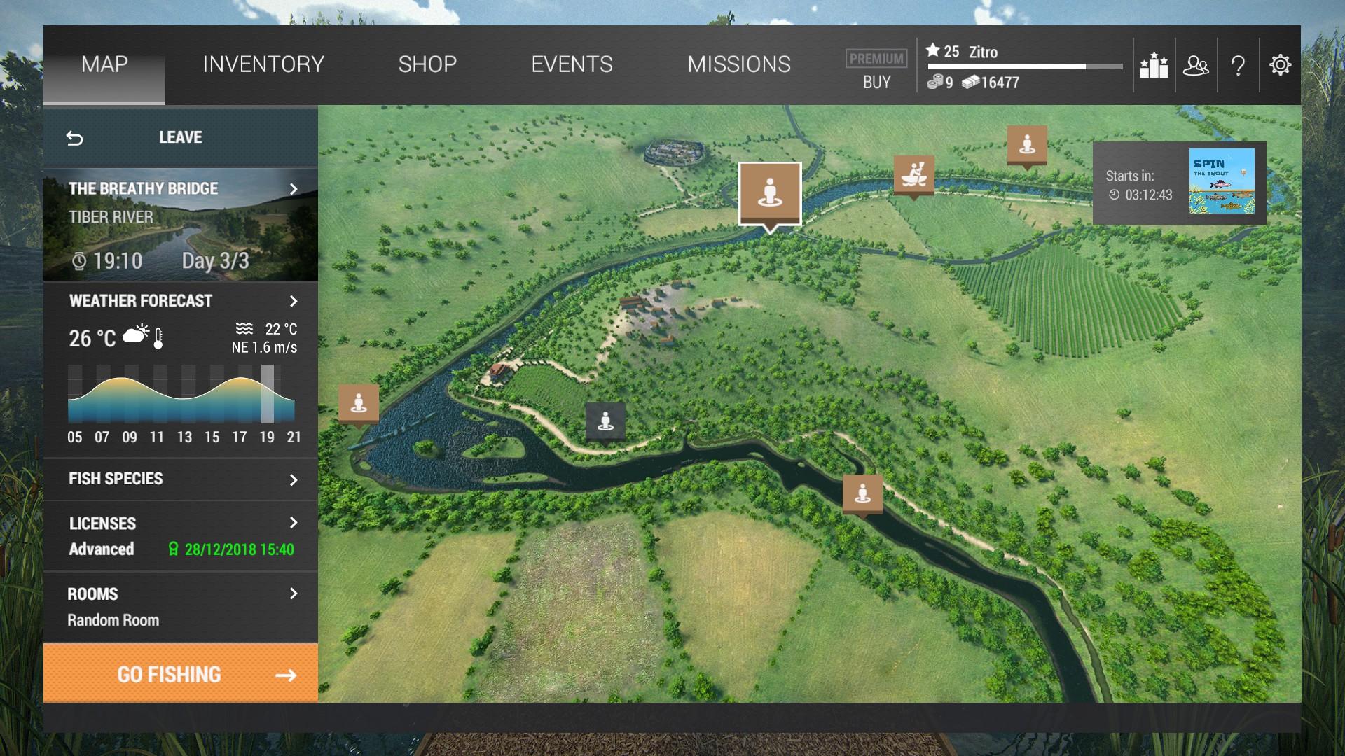 Steam Community :: Guide :: Fishing Planet: The Tiber River [EN]