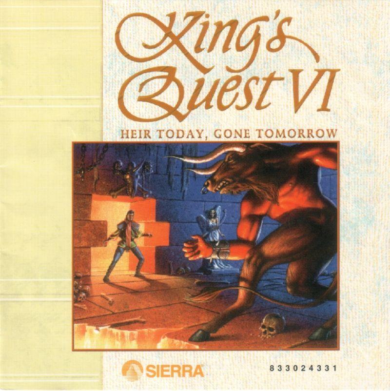 kings quest 6 manual