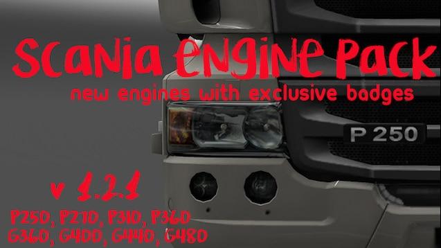 Steam Workshop :: Scania Engine Pack