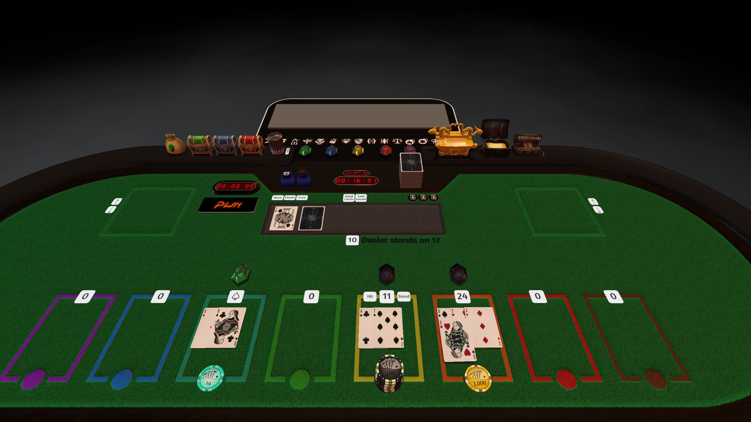 Automated Blackjack