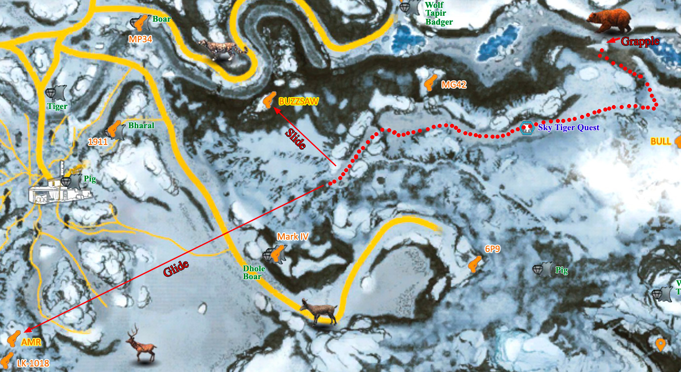 Steam Community Guide Valley Of The Yetis Map With All