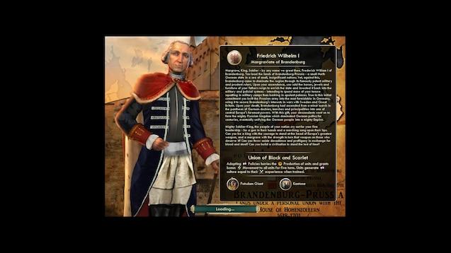 Steam Workshop :: (US) Brandenburg-Prussia - Frederick William I