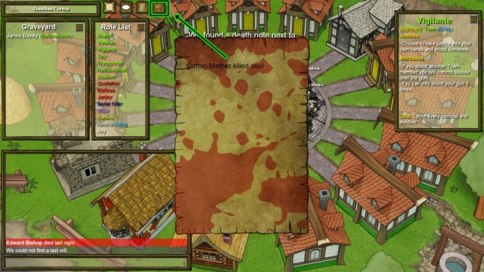 roles in town of salem