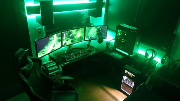 Steam toplulu u gaming setup d - Gamer zimmer ...