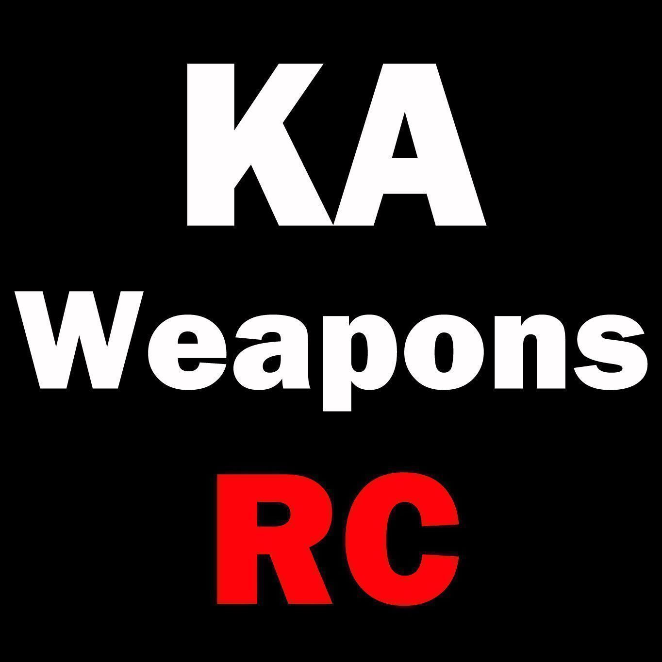 KA Weapons Pack NEW RC