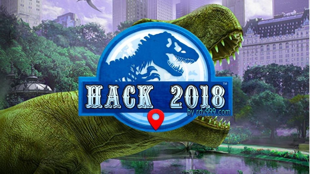 jurassic world hack 2018 apk