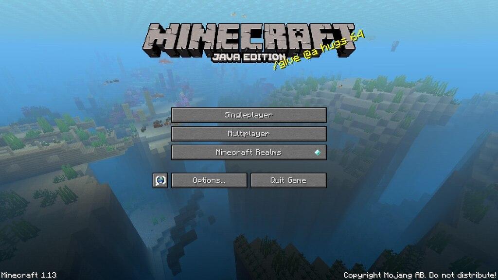 minecraft 1.13 update videos