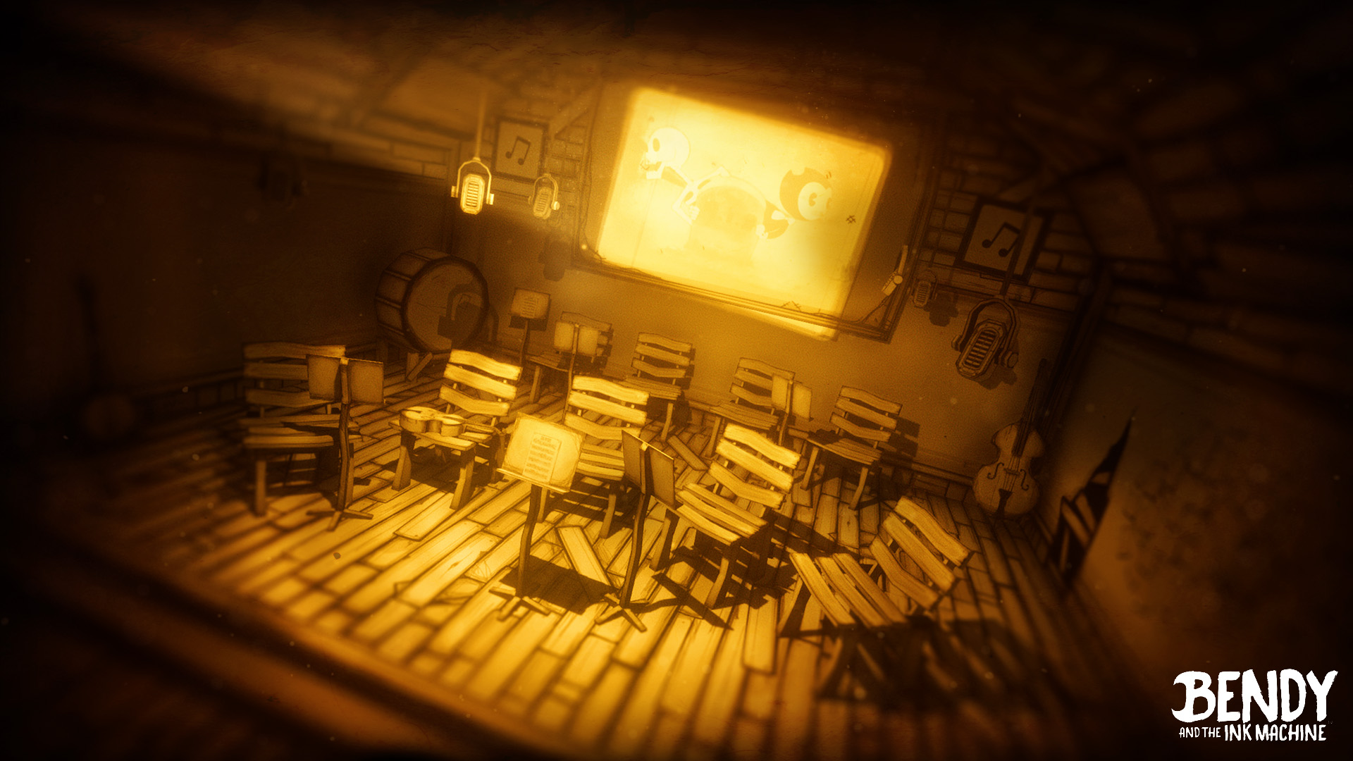 Steam Workshop Bendy And The Ink Machine Backgrounds