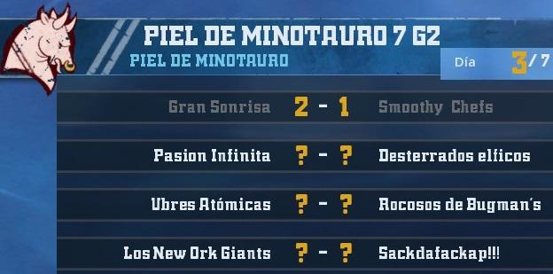 Campeonato Piel de Minotauro 7 - Grupo 2 / Jornada 3 - hasta el domingo 28 de octubre 06E9C22BDAF7F854BD4FA914FFAE5FF7FBDD5210