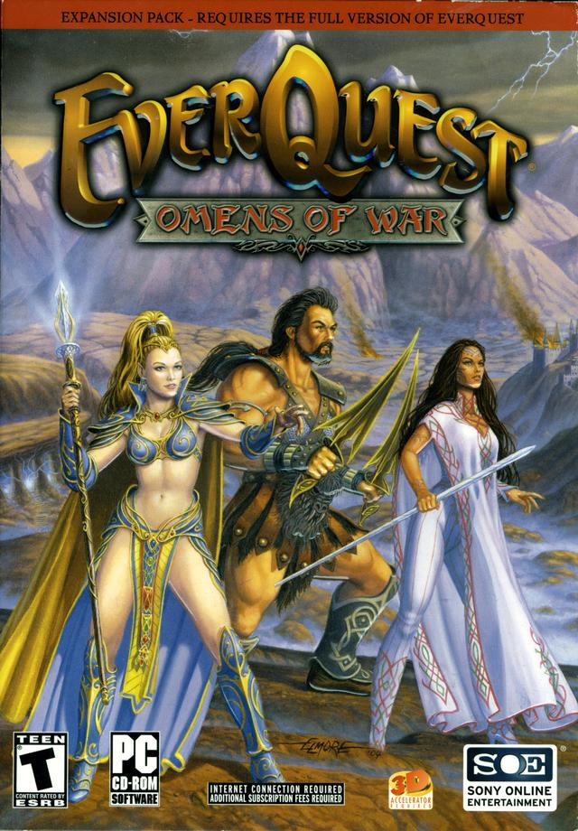 Steam Community :: :: EverQuest: Omens of War cover and logo