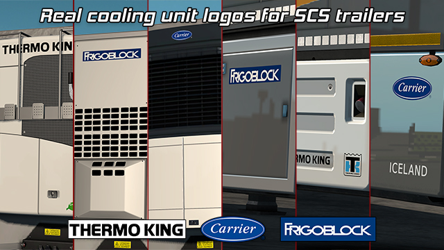 Steam Workshop :: Real cooling unit logos for SCS trailers