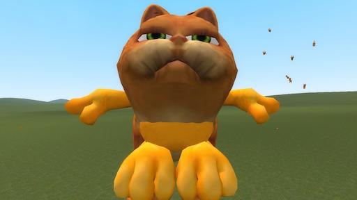 Steam Community Screenshot Cursed Garfield
