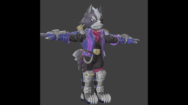 Steam Workshop :: Wolf (Super Smash Bros Ultimate)