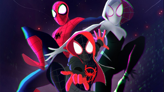 Steam Workshop Spider Man Into The Spider Verse Wallpapers