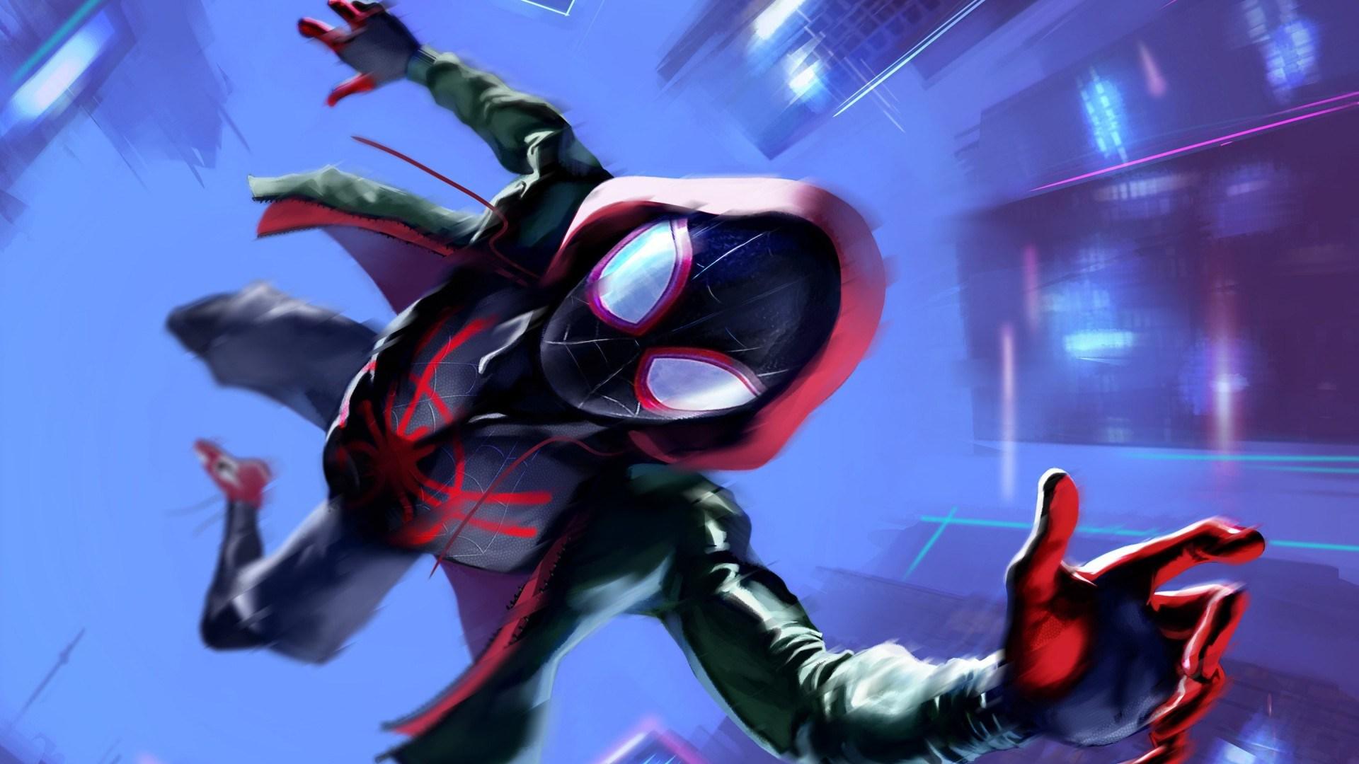 Steam Workshop Spider Man Into The Spider Verse Wallpapers