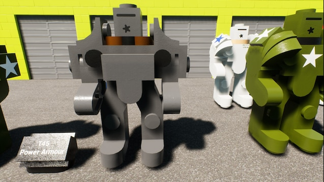 Steam Workshop :: Fallout Power Armour models