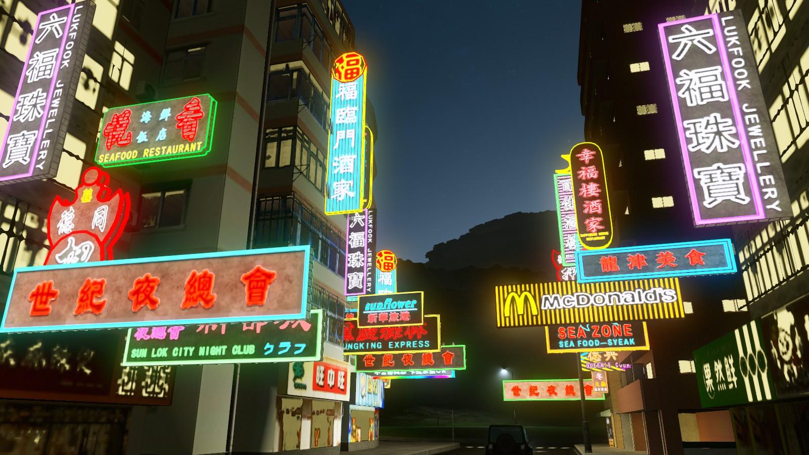Steam Workshop    Hk Neon Lighting  U6e2f U5f0f U9713 U8679 U71c8 U5ee3 U544a U724c Hong Kong