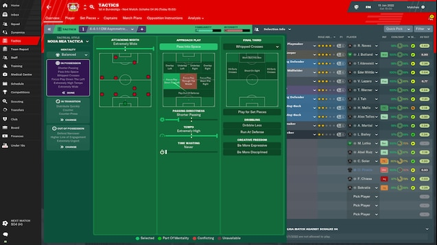 Steam Workshop :: Best fm19 tactic ever! Try it and see for