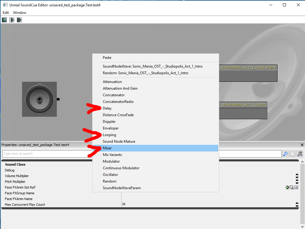 ชุมชน Steam :: คู่มือ :: How to make a SoundCue loop as