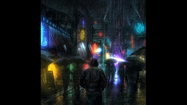 Steam Workshop :: Rain City - Animated Wallpaper