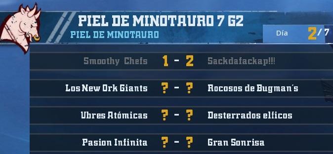 Campeonato Piel de Minotauro 7 - Grupo 2 / Jornada 2 - hasta el domingo 21 de octubre 0B4FBC57277C7D98B2D89A16461D1D4FFDD9E47A