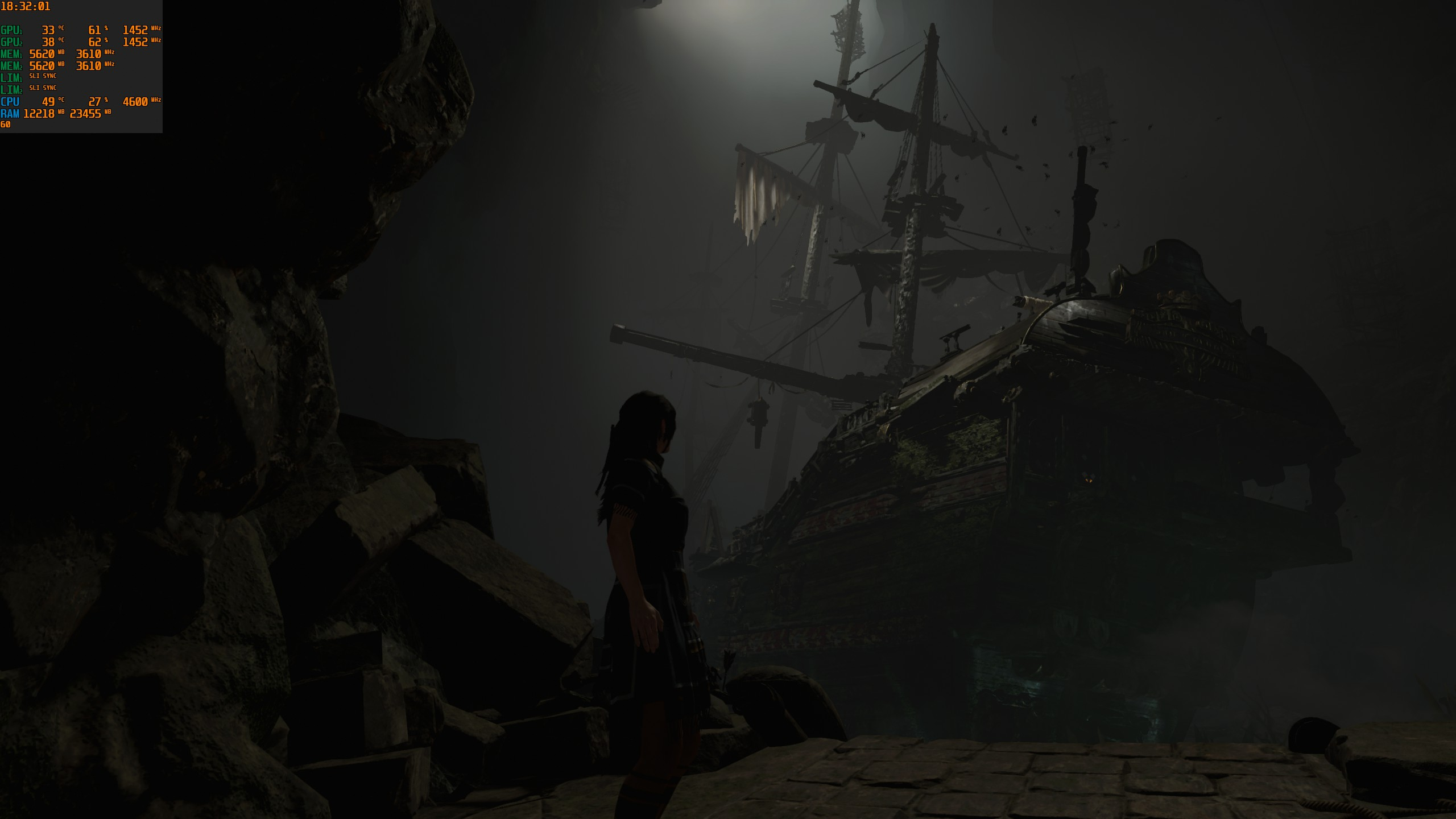 Sli not working ? 2080ti :: Shadow of the Tomb Raider