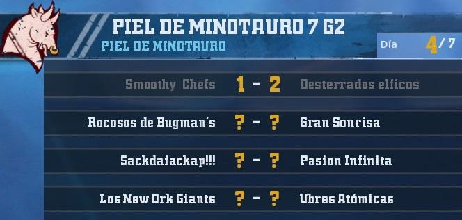 Campeonato Piel de Minotauro 7 - Grupo 2 / Jornada 4 - hasta el domingo 4 de Noviembre 5BFAF5755DD59258F37B84334602EF78CA3973A5