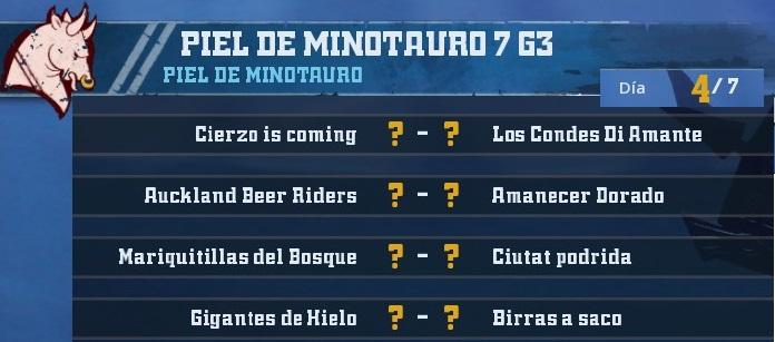 Campeonato Piel de Minotauro 7 - Grupo 3 / Jornada 4 - hasta el  domingo 4 de Noviembre 7D2EC4662ABE46E4EF4BCB9E05953DED13D02E69