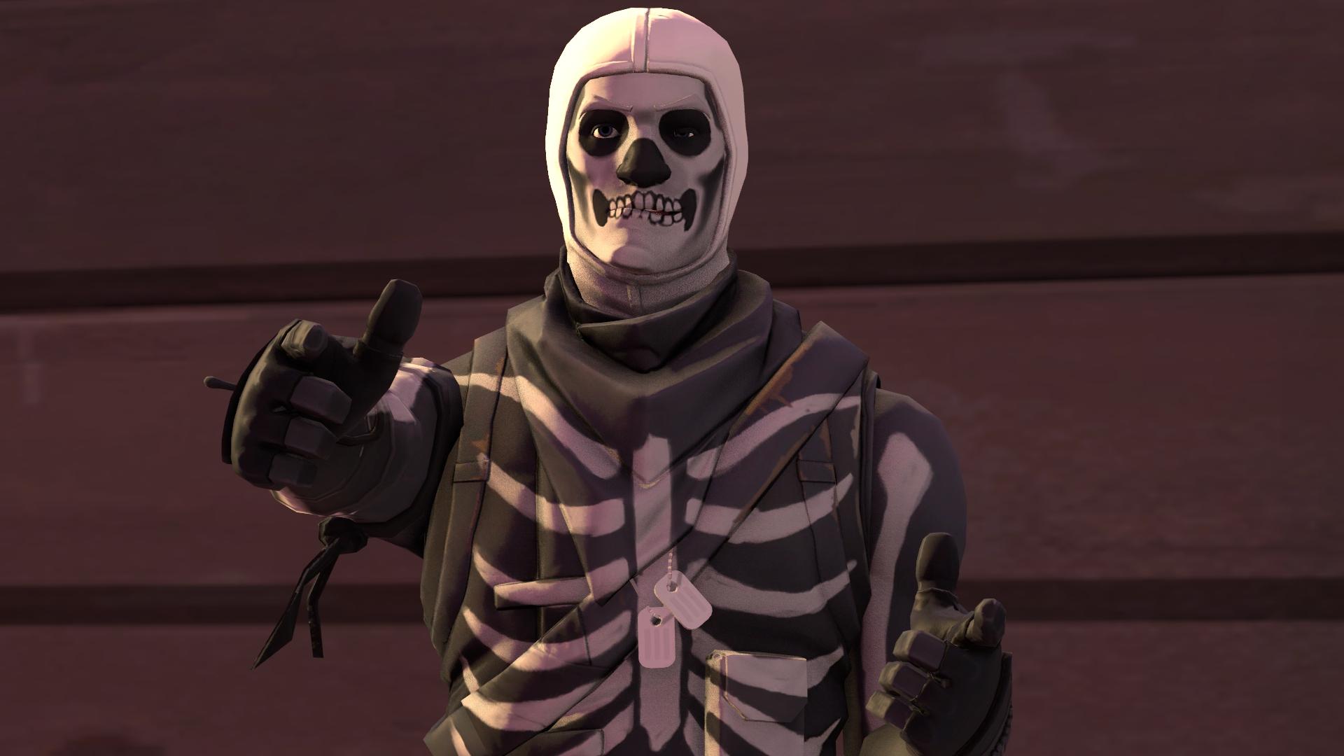 Steam Workshop :: Skull Trooper & Skull Ranger [Fortnite]