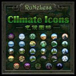 Steam Workshop :: RuNeLess's Climate Icon Pack
