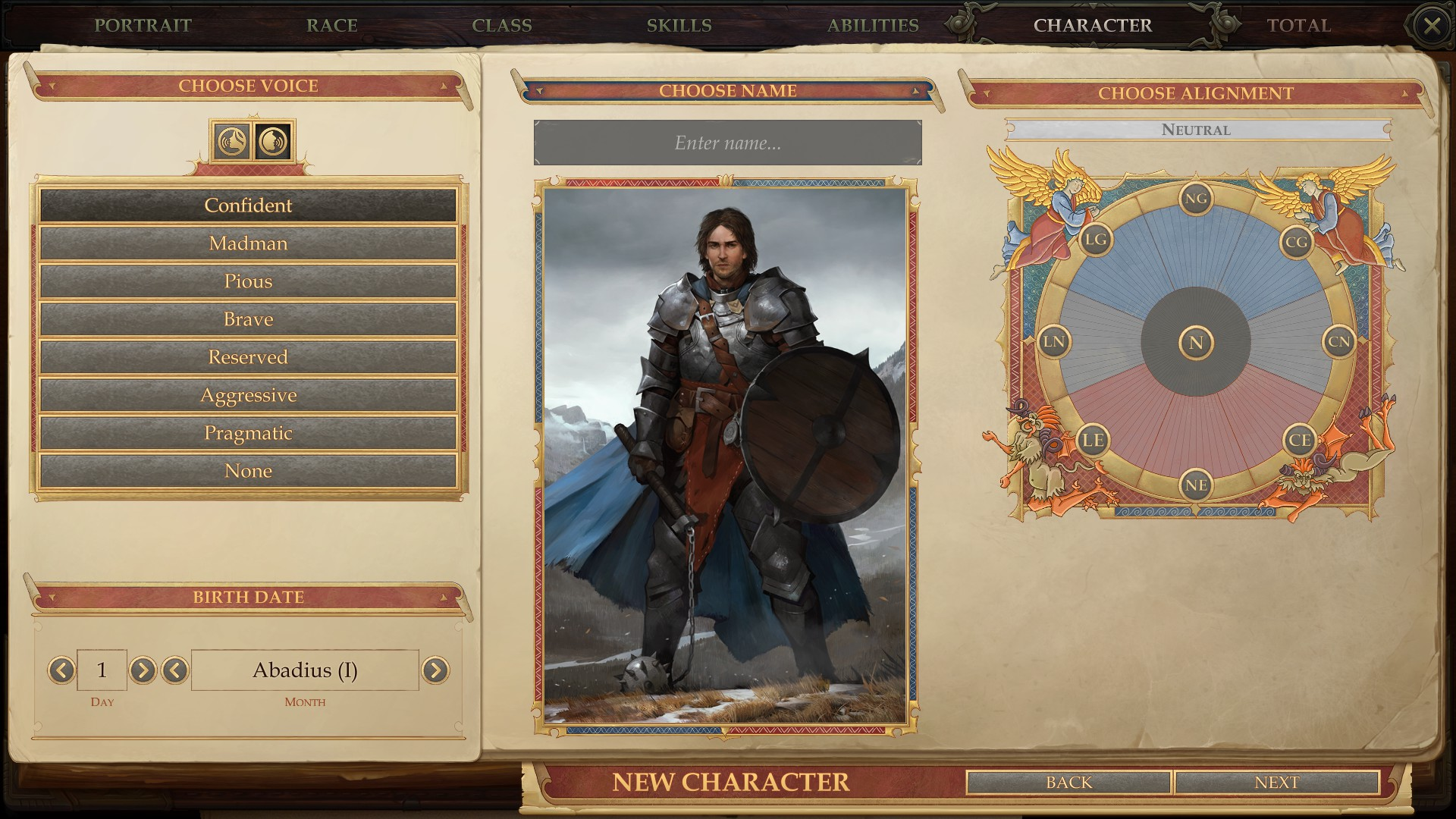 Walkthrough: How to Create a Character, Pathfinder