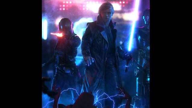 Steam Workshop Star Wars Cyberpunk Ultrawide