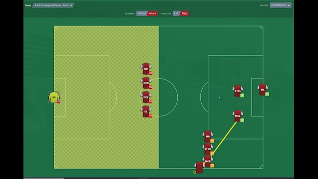 Steam Workshop :: 4-4-2 Scumbag Set Pieces 1 2 - Exploit