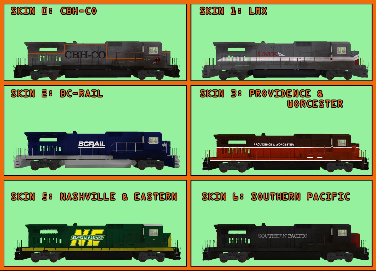 Steam Workshop :: (CBH\'s Trains) US GE C39/B39 Diesel Loco pack