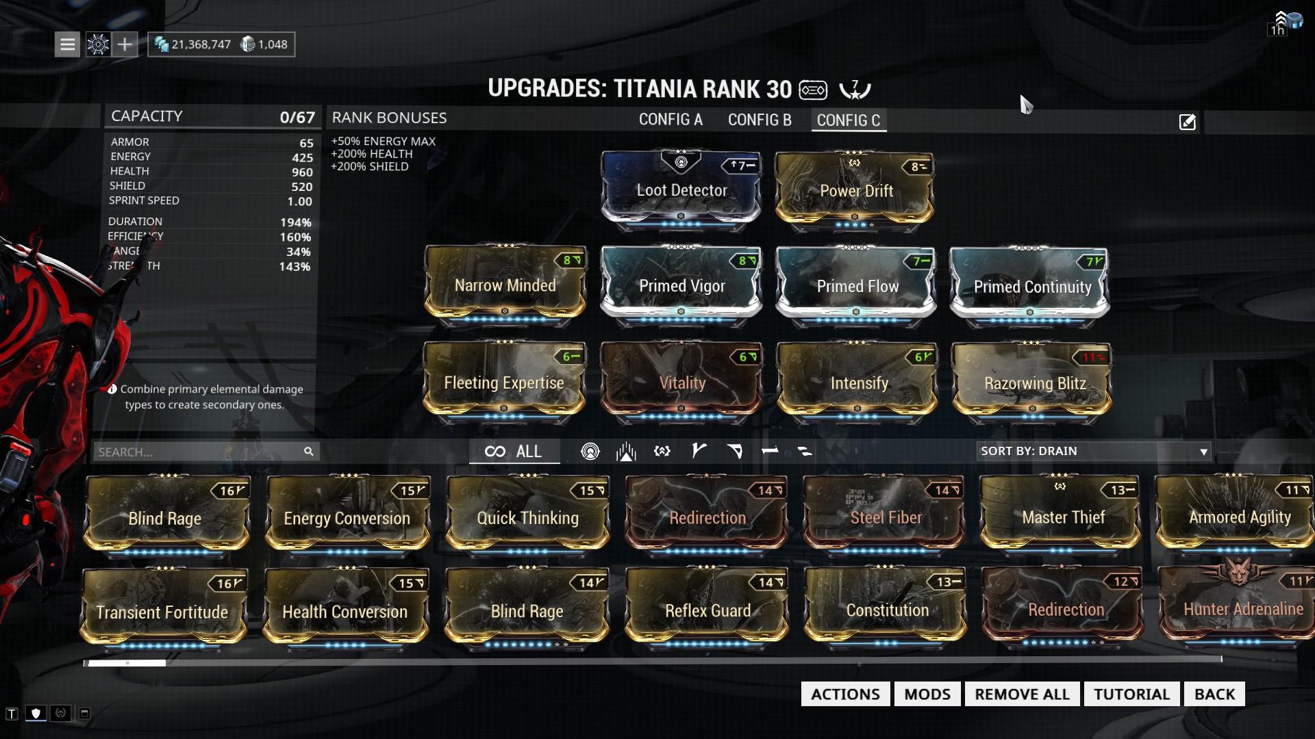 warframe how to get rhino
