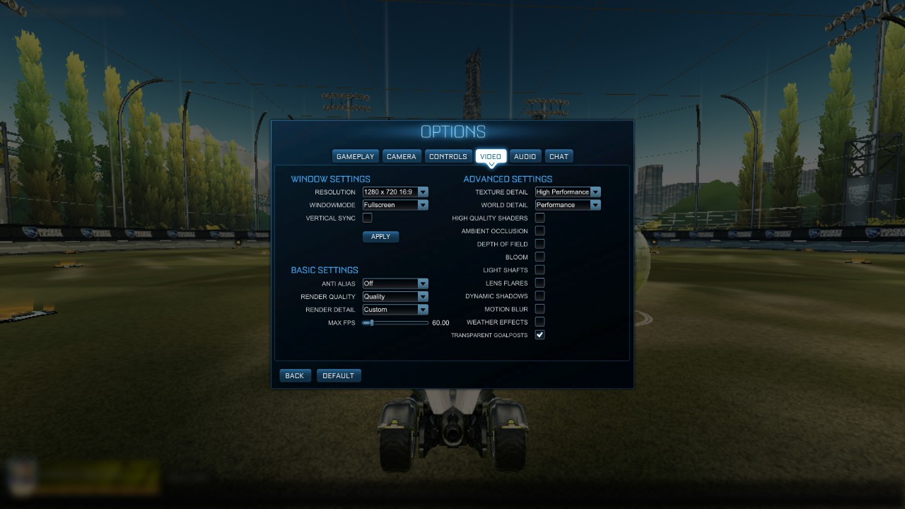 Steam Community :: Guide :: Rocket league for Potato computers