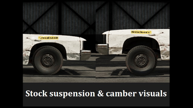 Steam Workshop :: Stock suspension & camber visuals