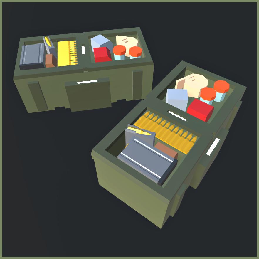 Ammo+Med Box (Replenishable!)