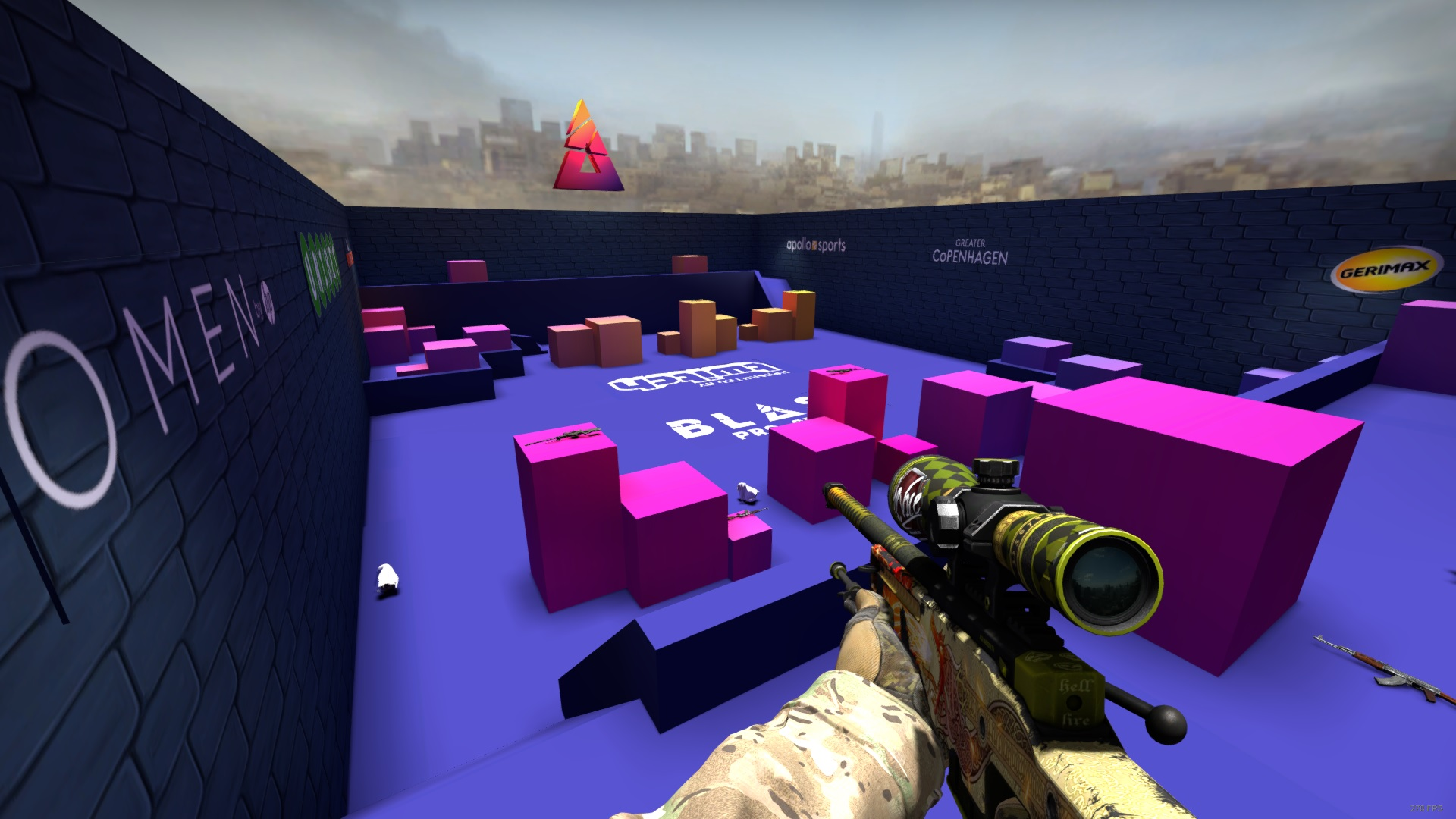 Steam Workshop :: Blast Pro Series Aim Map 1vs1