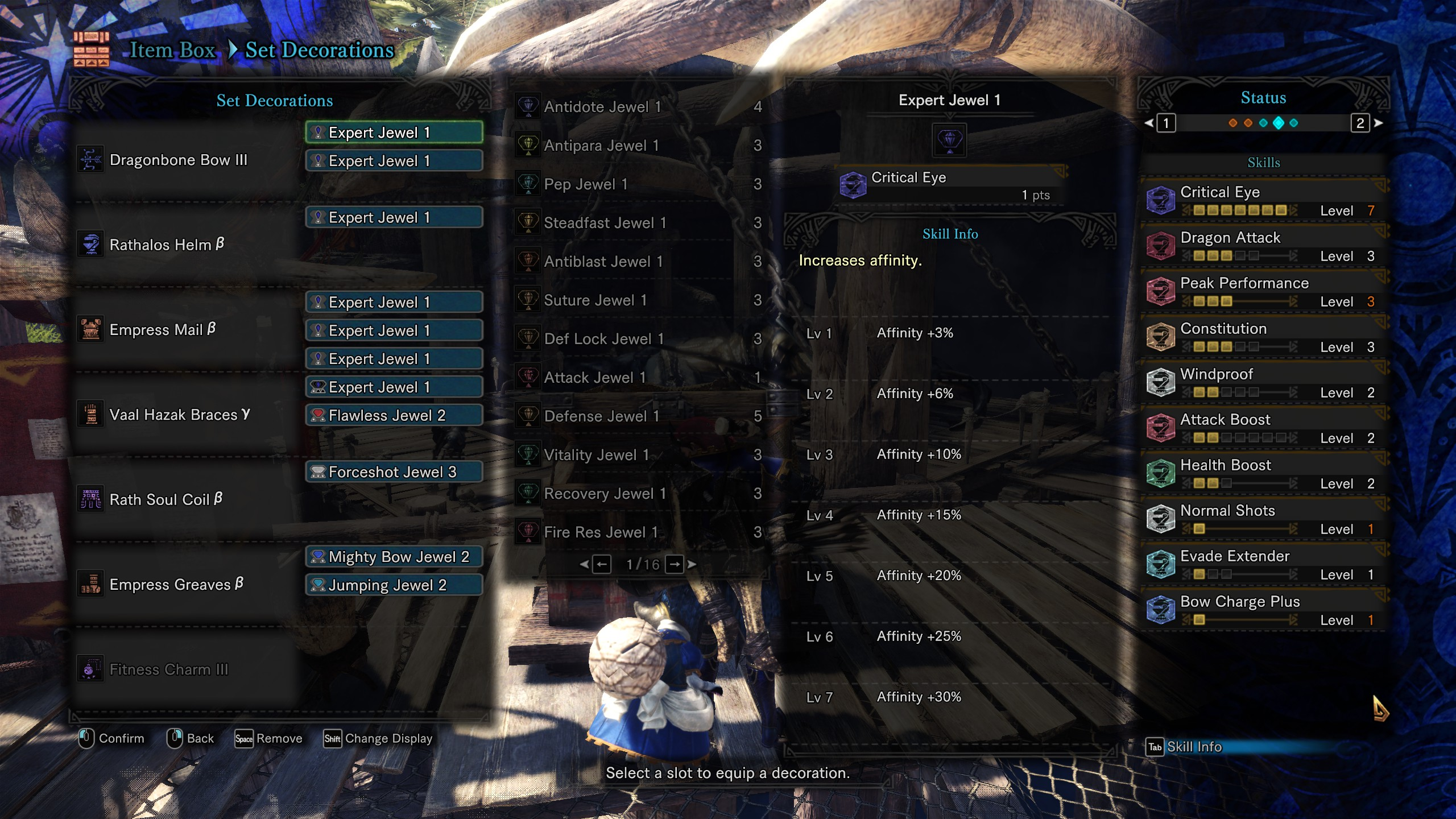 Updated bow dragon build help :: MONSTER HUNTER: WORLD
