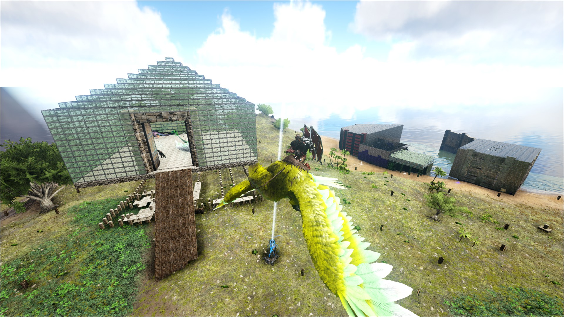 Creative PVE Breeding Base Designs? :: ARK: Survival Evolved