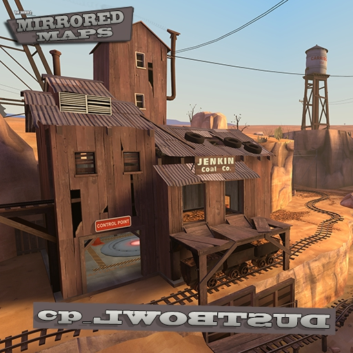 Steam Workshop :: Mirrored Dustbowl - cp_lwobtsud on