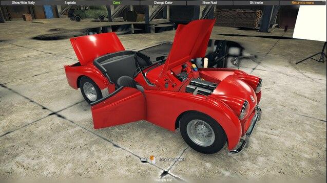 Steam Workshop :: Triumph TR2/TR3/TR3A